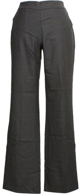 Item - Charcoal Gray Heathered Stretch Wool Flannel Twill Trouser Pants Size 10 (M, 31)