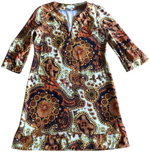 Jude Connally short dress Orange Brown on Tradesy