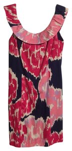 Lilly Pulitzer short dress Navy & Pink on Tradesy