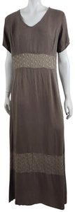 Taupe Beige Maxi Dress by Johnny Was #maxi #prairie