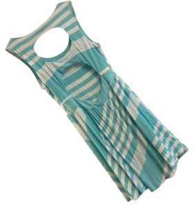 Ocean Drive short dress blue and white on Tradesy