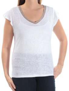 627c4c19b3 White Maison Jules Tops - Up to 70% off a Tradesy
