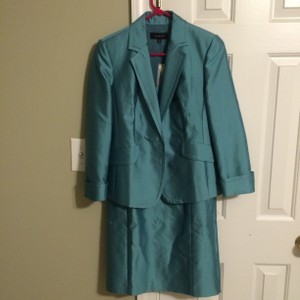 Talbots Teal Dress With Jacket Dress