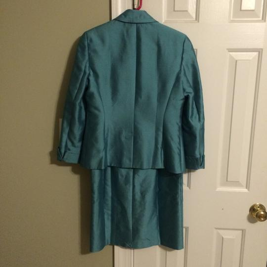 Talbots teal dress with jacket dress on sale 76 off for Talbots dresses for weddings