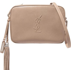 Saint Laurent Lou Lou Leather Shoulder Bag