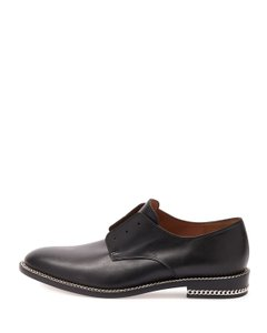Givenchy Leather Oxford Black Formal