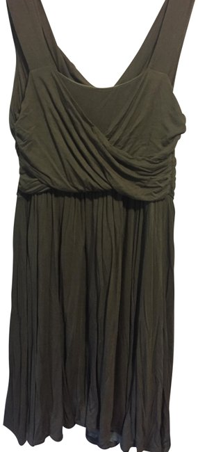 Item - Olive Green No Tags Mid-length Cocktail Dress Size 16 (XL, Plus 0x)