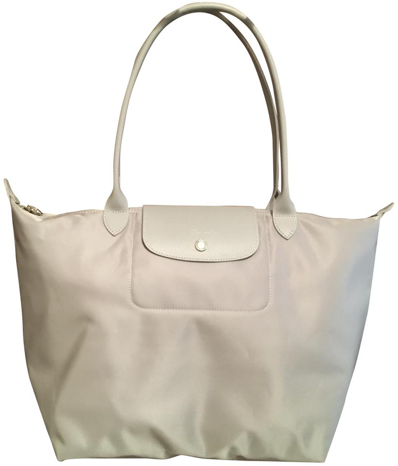 f8bad68ade117 Longchamp Lightweight Le Pliage Nylon Tote in silver Image 0 ...