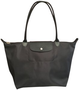 Longchamp Lightweight Le Pliage Nylon Tote in black