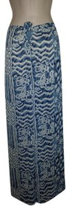 Moda International Paisley Wide Leg Pants blues