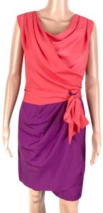 Suzi Chin short dress Purple on Tradesy