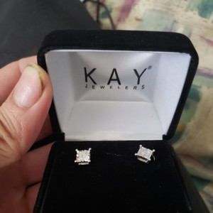 Kay Jewelers 3/4 ct tw Diamonds 10K White Gold Earrings from kay Jewelers
