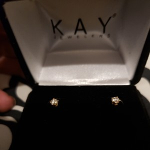 Kay Jewelers Diamond Earrings 1/4 ct tw Round-cut 14K Yellow Gold from kay jewelers