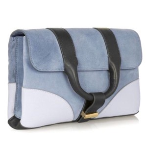 Jason Wu Blue Grey/Gray Clutch