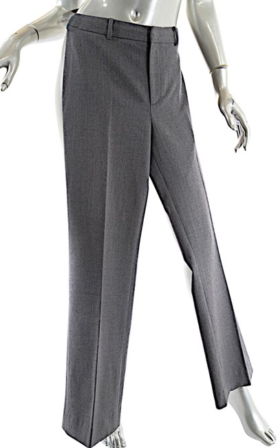 Item - Grey Wool Blend Clean Front with Rear Pockets Pants Size 8 (M, 29, 30)