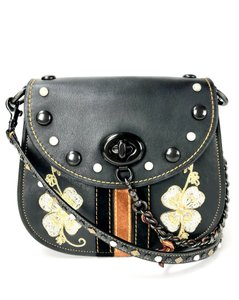 Coach 1941 Dinky Shoulder Studded Embroidered Cross Body Bag