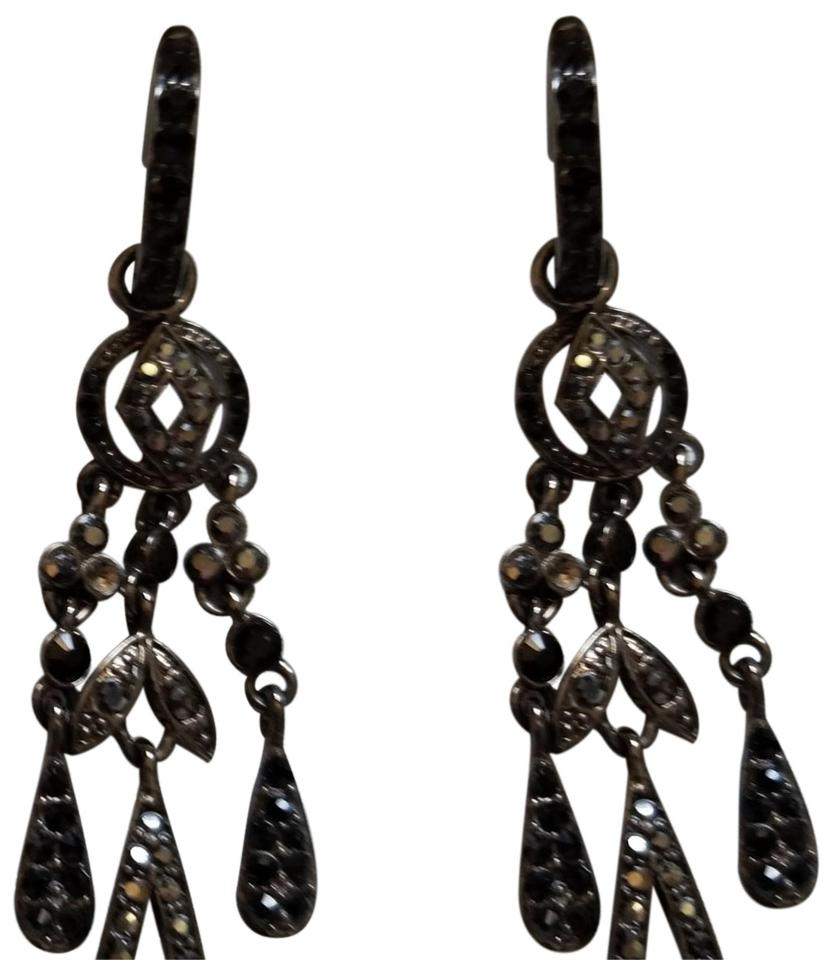 Monet Chandelier Earrings With Swarovski Crystals