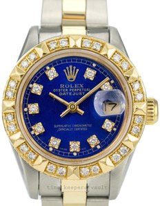 Rolex Rolex Lady Datejust 2tone Diamond Dial Gold Diamond Bezel Oyster Band