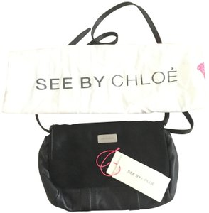 See by Chloé Pony Hair Leather Cross Body Bag