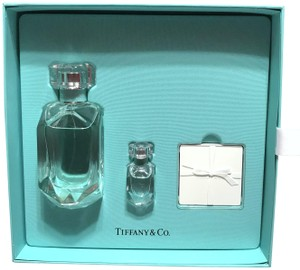 Tiffany & Co. GIFT SET - 2.5 OZ EAU DE PARFUM SPRAY + .17 TRAVEL SIZE PERFUME
