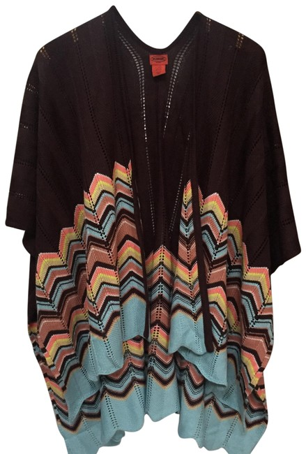 Preload https://img-static.tradesy.com/item/24095845/missoni-for-target-brown-with-multicolor-sweater-0-1-650-650.jpg