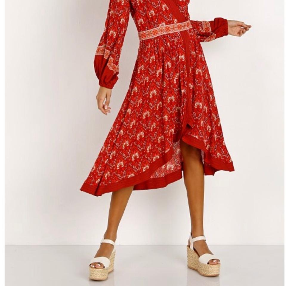 420ebb1901e8 red/copper Maxi Dress by Spell & the Gypsy Collective Image 4. 12345