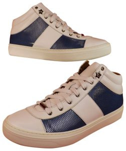 Jimmy Choo High Blue White Multicolor Athletic