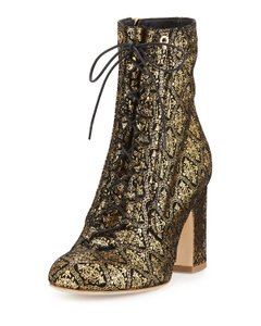 Laurence Dacade Gold Boots