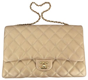 Chanel Gold Clutch