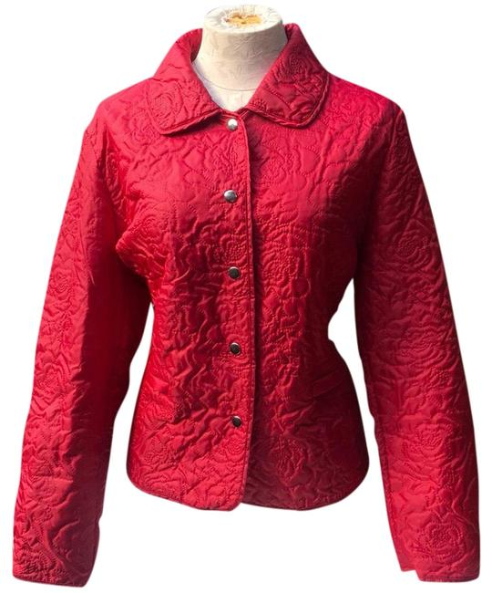 Item - Red Puff Jacket Size 12 (L)