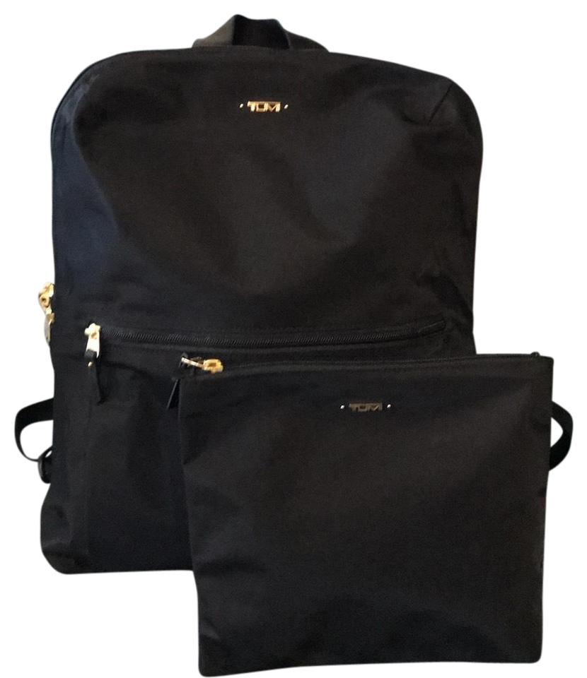 76820b4c8d Tumi Just In Case Travel Voyageur Black Nylon Backpack - Tradesy