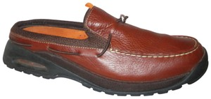 Cole Haan Leather Nike Air 001 brown Mules