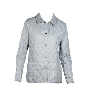 Burberry Quilted Quilted Quilted Classic Classic Light Blue Jacket