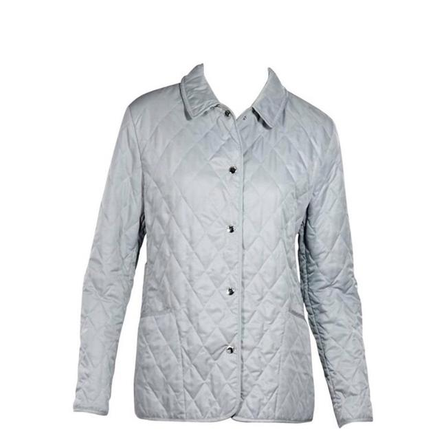 Item - Light Blue London Quilted Jacket Size 4 (S)