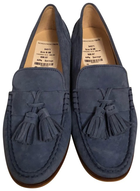 Item - Blue Flats Size US 8.5 Regular (M, B)