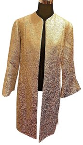 B Michael American Red Duster 16 Gold Blazer