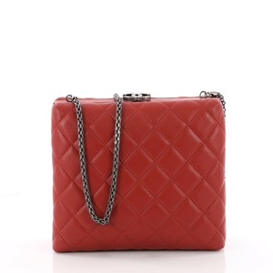 6d8a94afaffc Added to Shopping Bag. Chanel Clutch Leather Cross Body Bag. Chanel Clutch  Cc Clasp Box Quilted Red ...