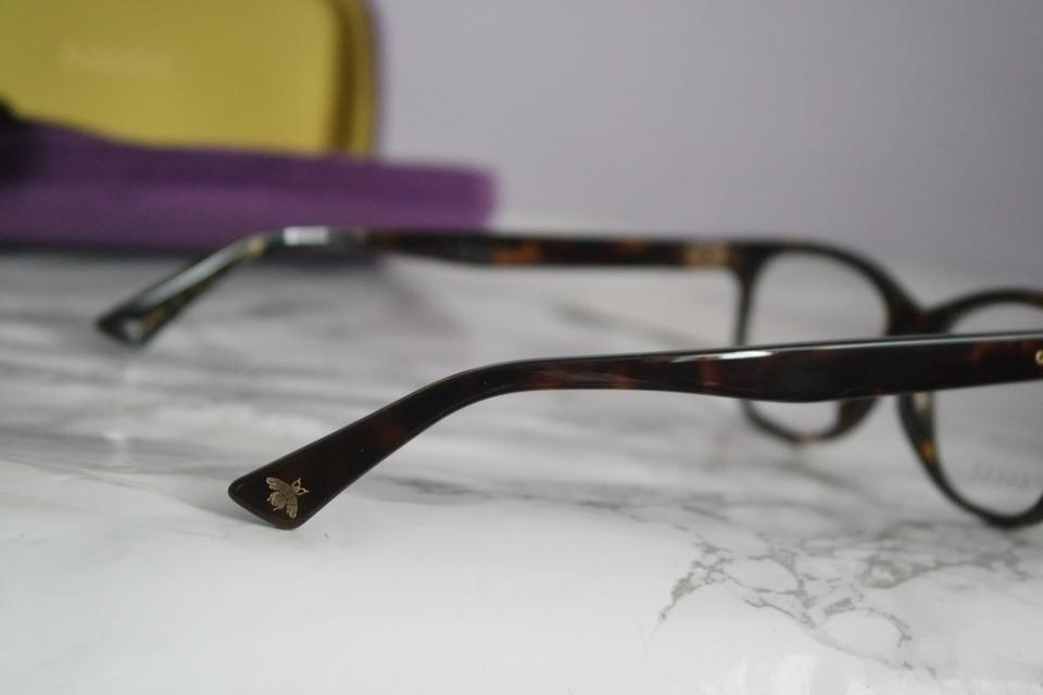 d64810958126 Gucci NEW Gucci 0162OA Asian Fit Square Brown Eyeglasses Frames Image 9.  12345678910