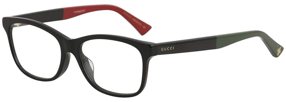 Gucci Black New 0162oa Green Red Legs Asian Fit Frames Sunglasses ...