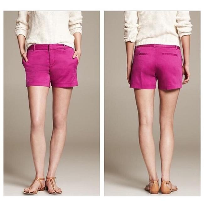 """Item - Magenta Stretch 5"""" In Shorts Size 6 (S, 28)"""