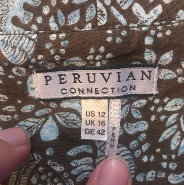 brown Maxi Dress by Peruvian Connection