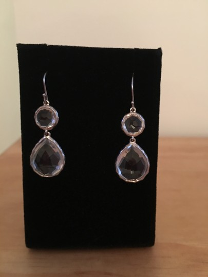 Ippolita Ippolita Clear Quartz & Sterling Silver Drop Earrings