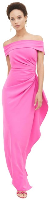 Preload https://img-static.tradesy.com/item/24097421/vince-camuto-fuchsia-off-the-shoulder-crepe-gown-long-formal-dress-size-6-s-0-1-650-650.jpg