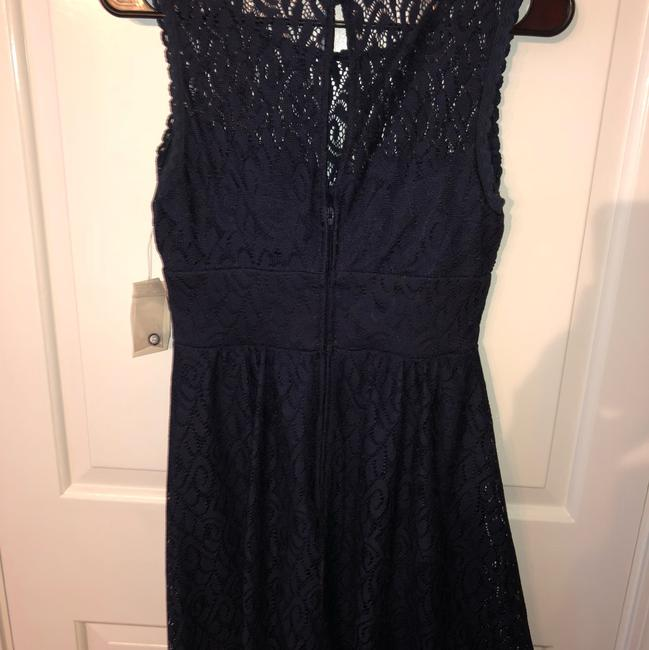 B. Darlin short dress navy blue on Tradesy