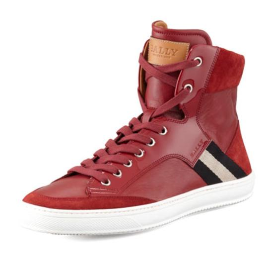 Preload https://img-static.tradesy.com/item/24097493/bally-redishcranberry-bally-oldani-mixed-leather-high-top-sneaker-sneakers-size-us-105-regular-m-b-0-0-540-540.jpg