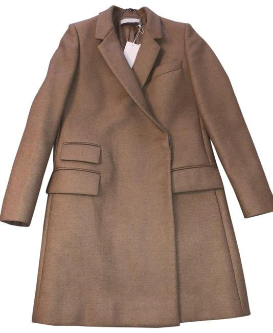 Preload https://img-static.tradesy.com/item/24097551/stella-mccartney-camel-melton-coat-size-4-s-0-1-650-650.jpg