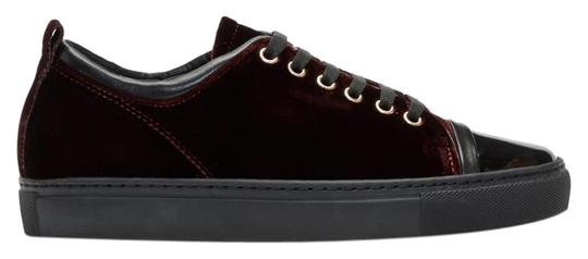 Preload https://img-static.tradesy.com/item/24097579/lanvin-burgundyblack-low-top-sneaker-sneakers-size-us-10-regular-m-b-0-3-540-540.jpg
