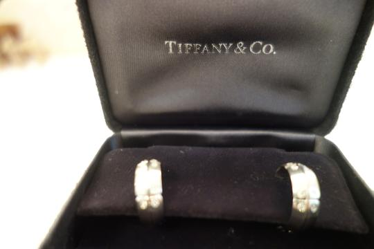 Tiffany & Co. Tiffany White Gold Diamonds Earrings Authentic