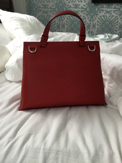 Gucci Bamboo Tote in Red