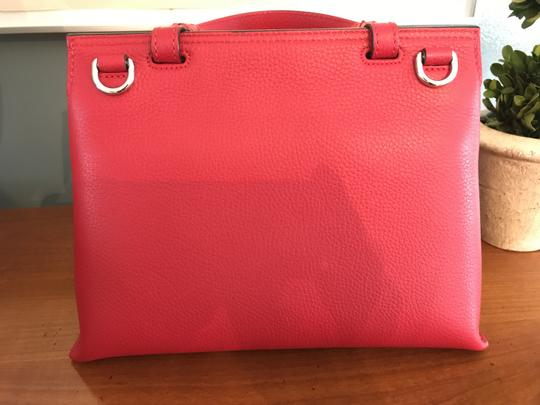 Gucci Bamboo Tote in Red Image 7